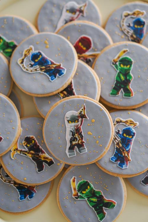 lego ninjago kinderverjaardag koekjes