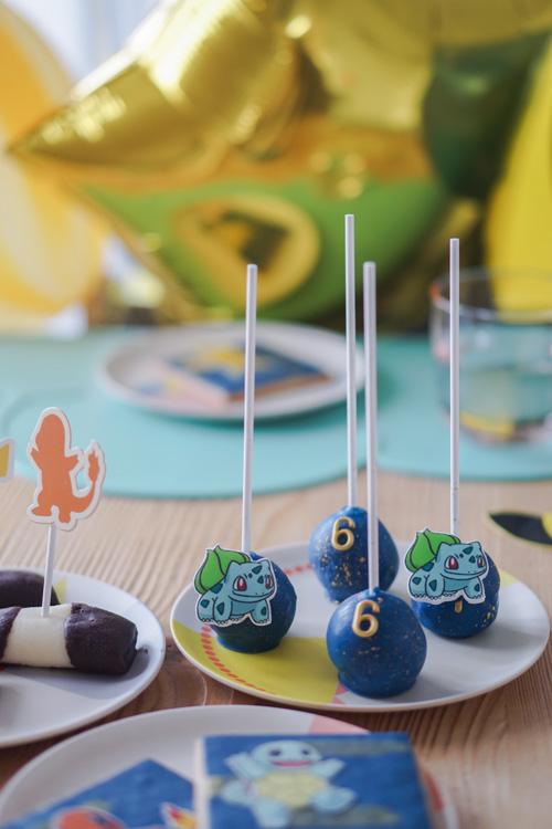 pokemon kinderverjaardag koekjes