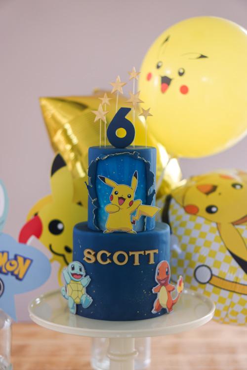 pokemon taart versiering
