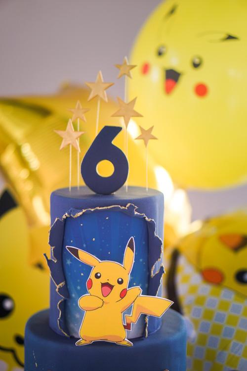 pokemon verjaardagstaart