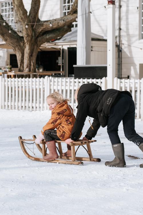 spelen Amsterdam kinderen sneeuw
