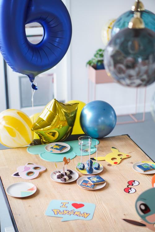 sweet table verjaardag kleuter pokemon
