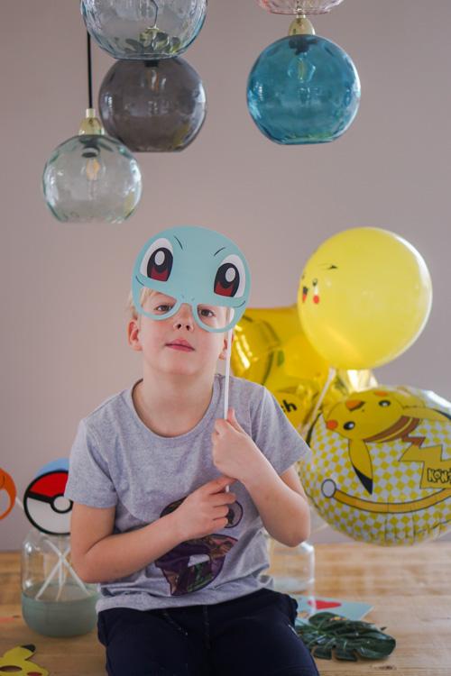 versiering jongen 6 jaar pokemon