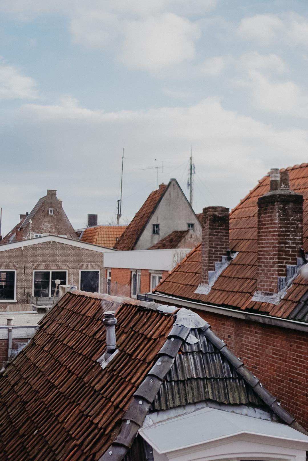 uitzicht van B&B de Waegh Friesland