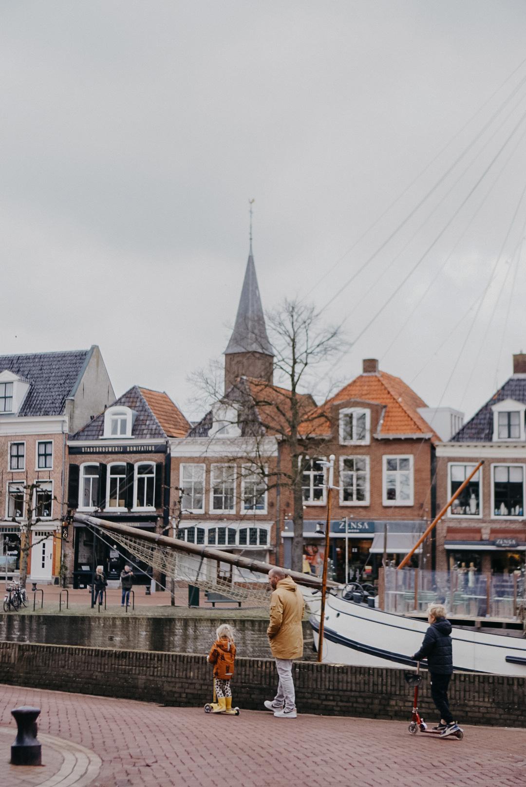 Centrum Dokkum oude stad