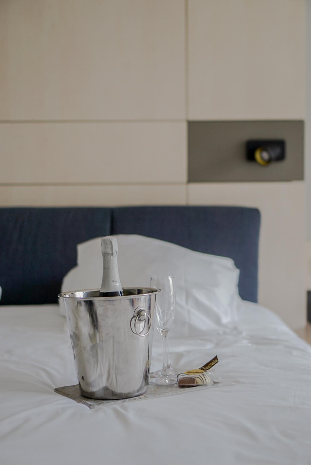hotelkamer welkomsdrankje thermae 2000