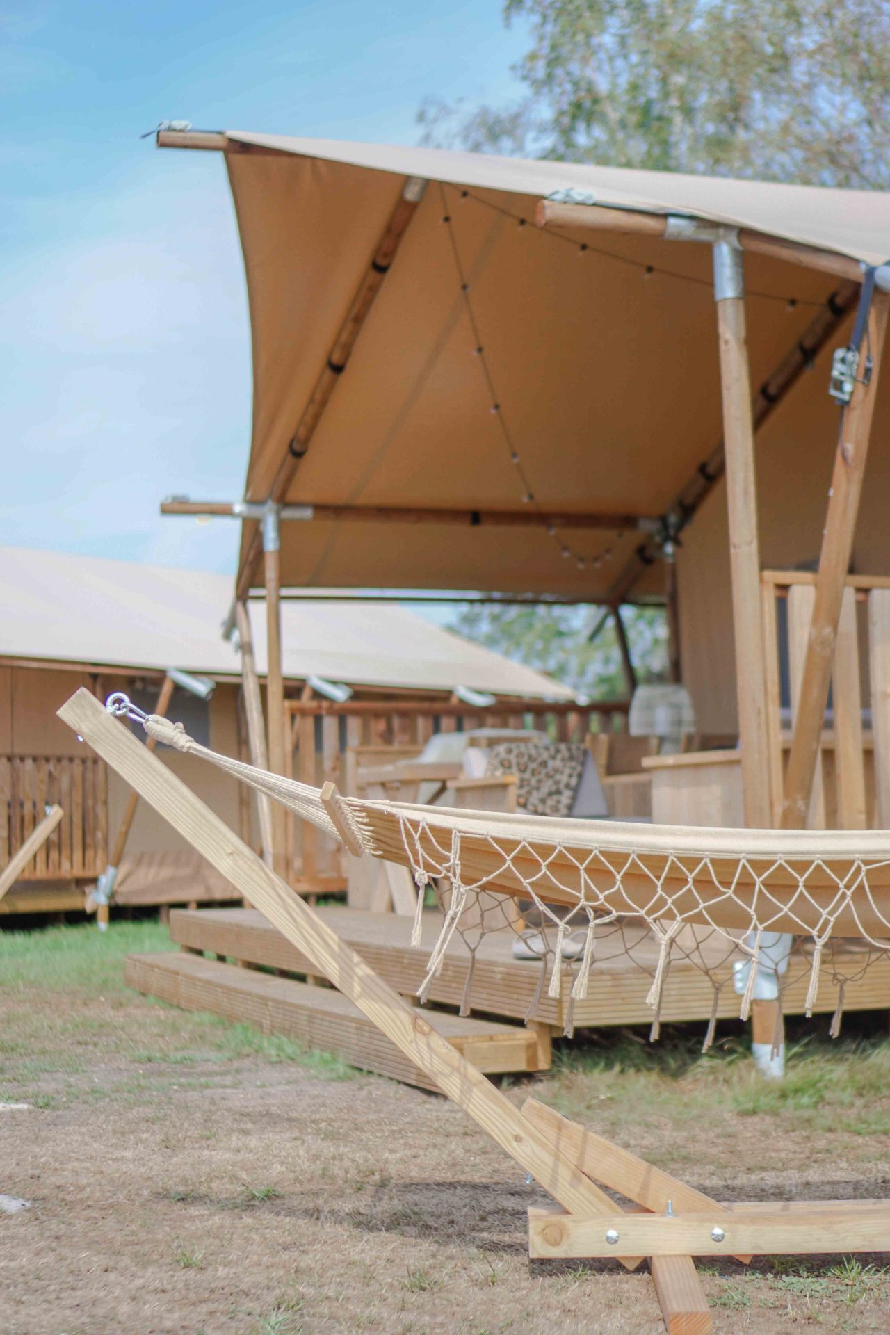 kamperen in stijl glamping nederland