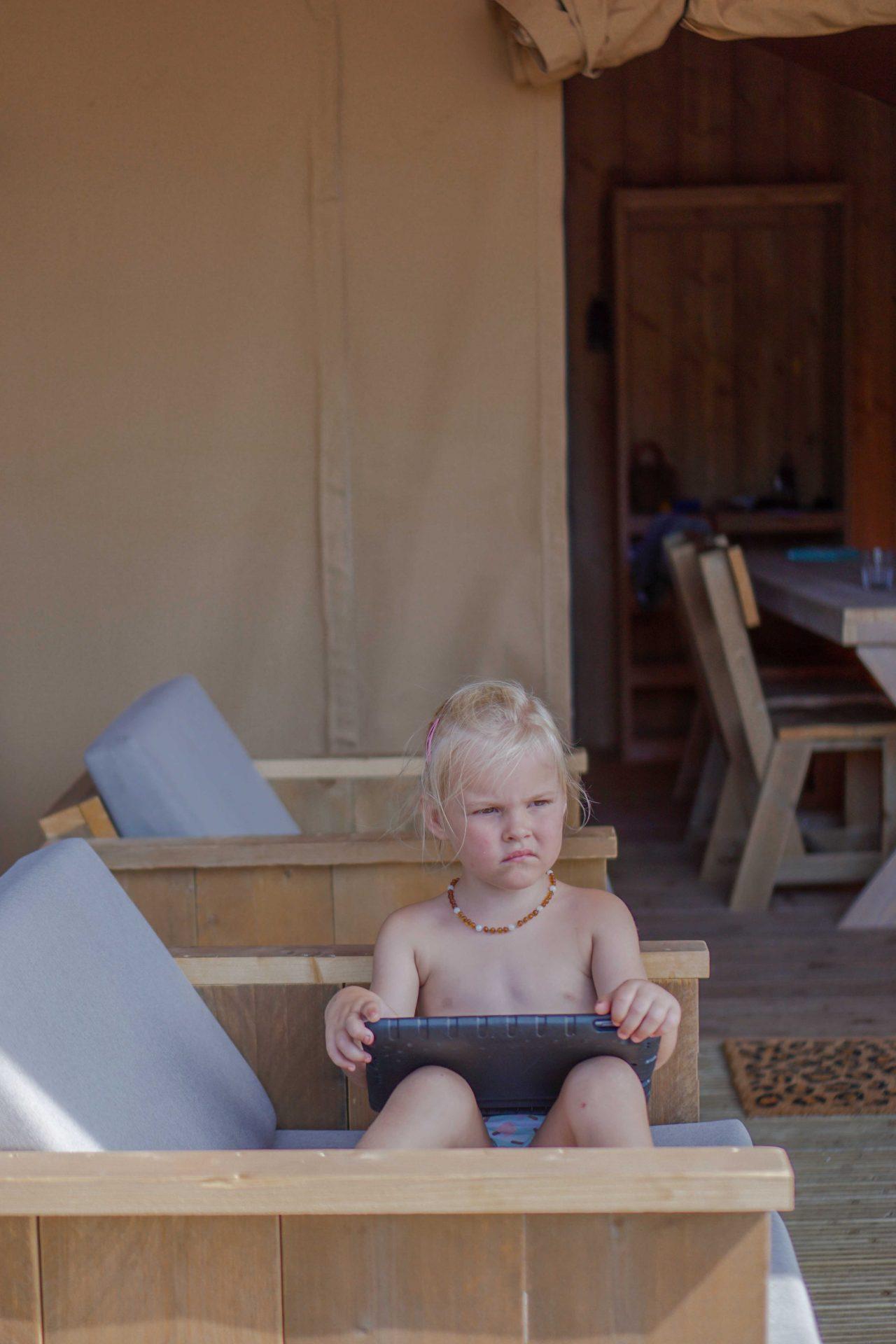 kidsproof glamping safaritent nederland veluwe
