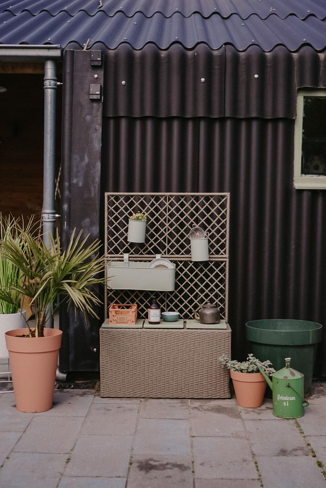 speelkeukentje voor in de tuin kunststof
