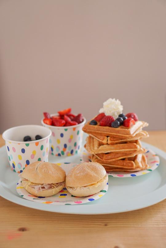 keto wafels ontbijt