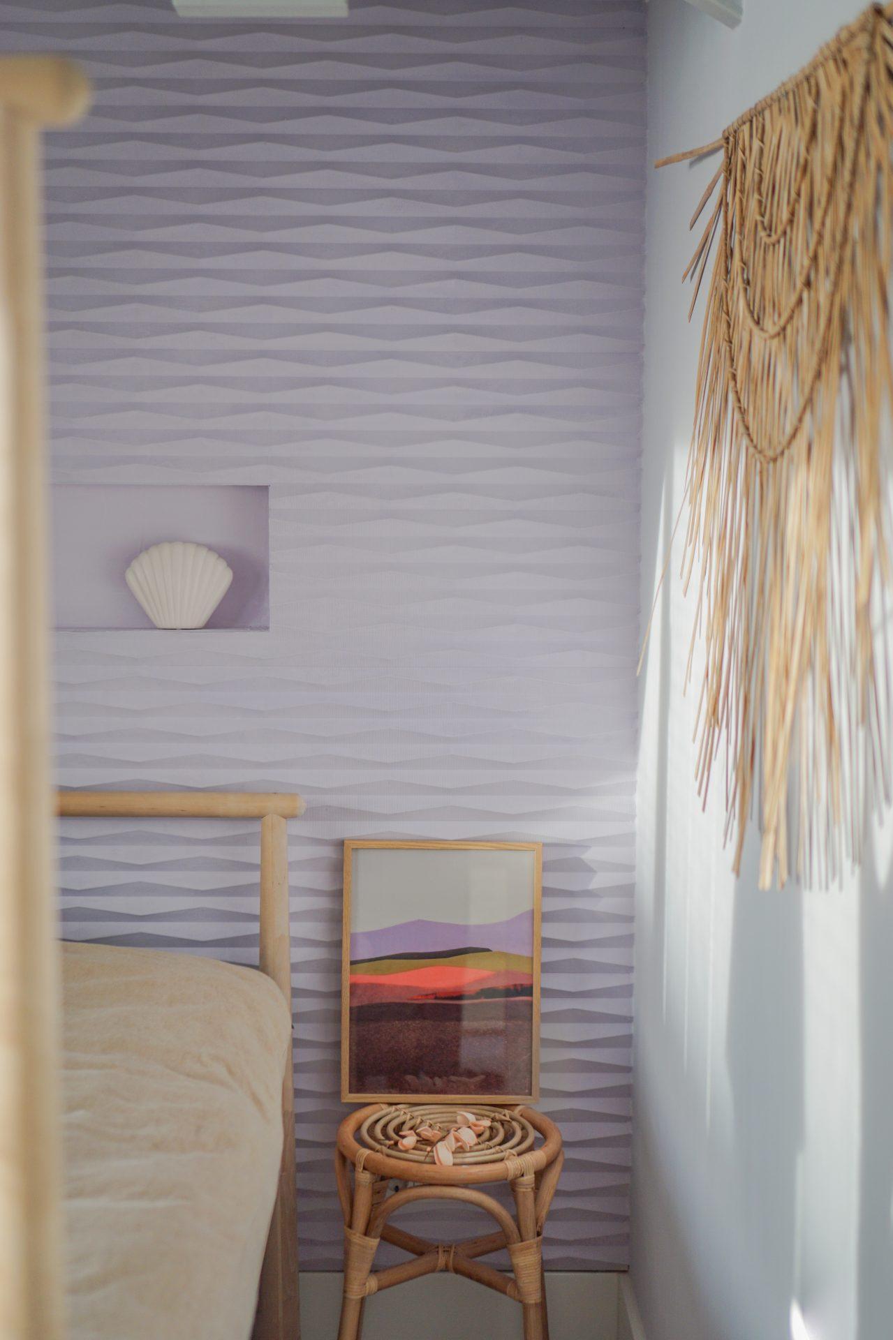 interieurtrends woontrends lila wandpanelen