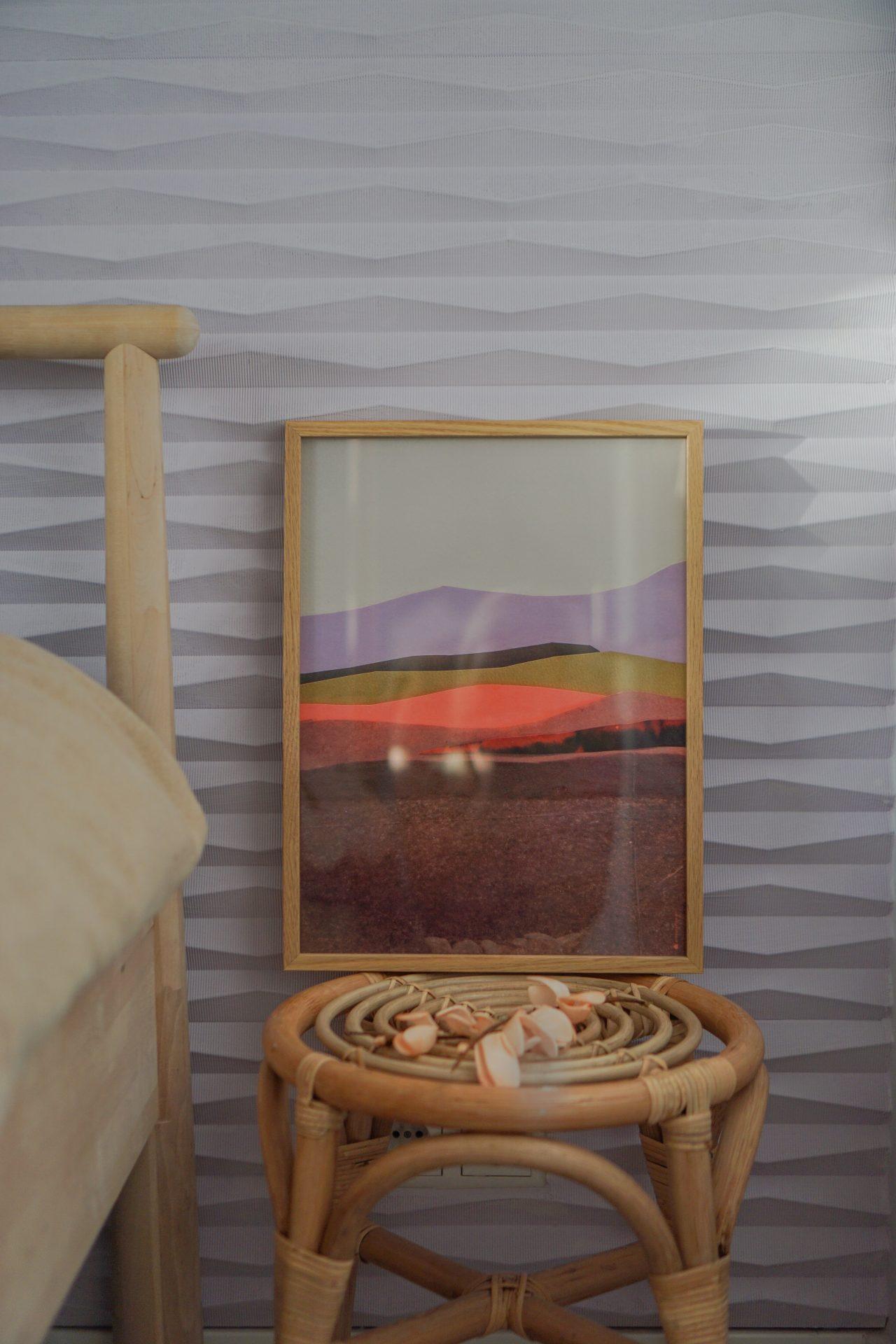 kunst tinystories slaapkamer styling
