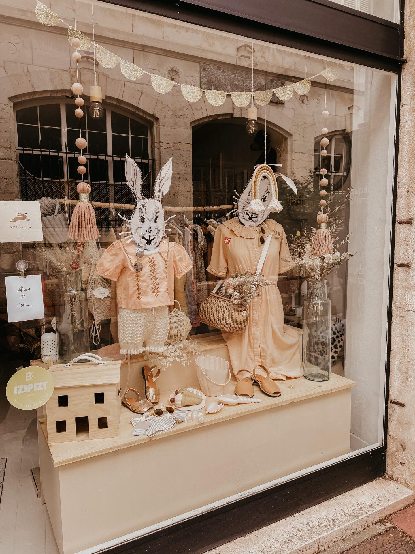 Beaune shop tips kinder concept store