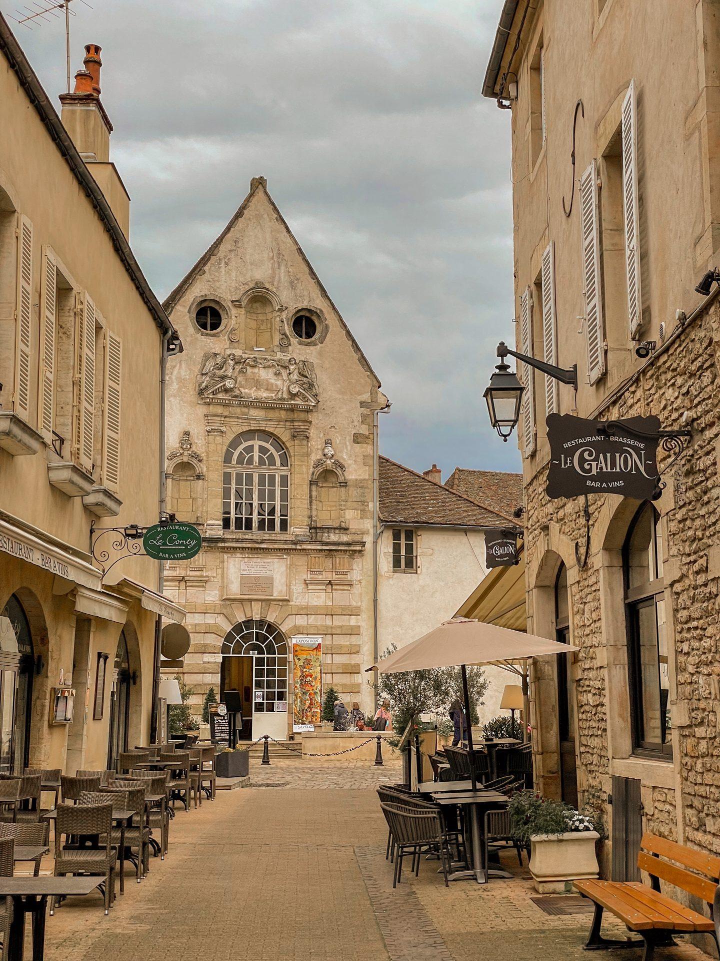 Beaune stad Bourgondië