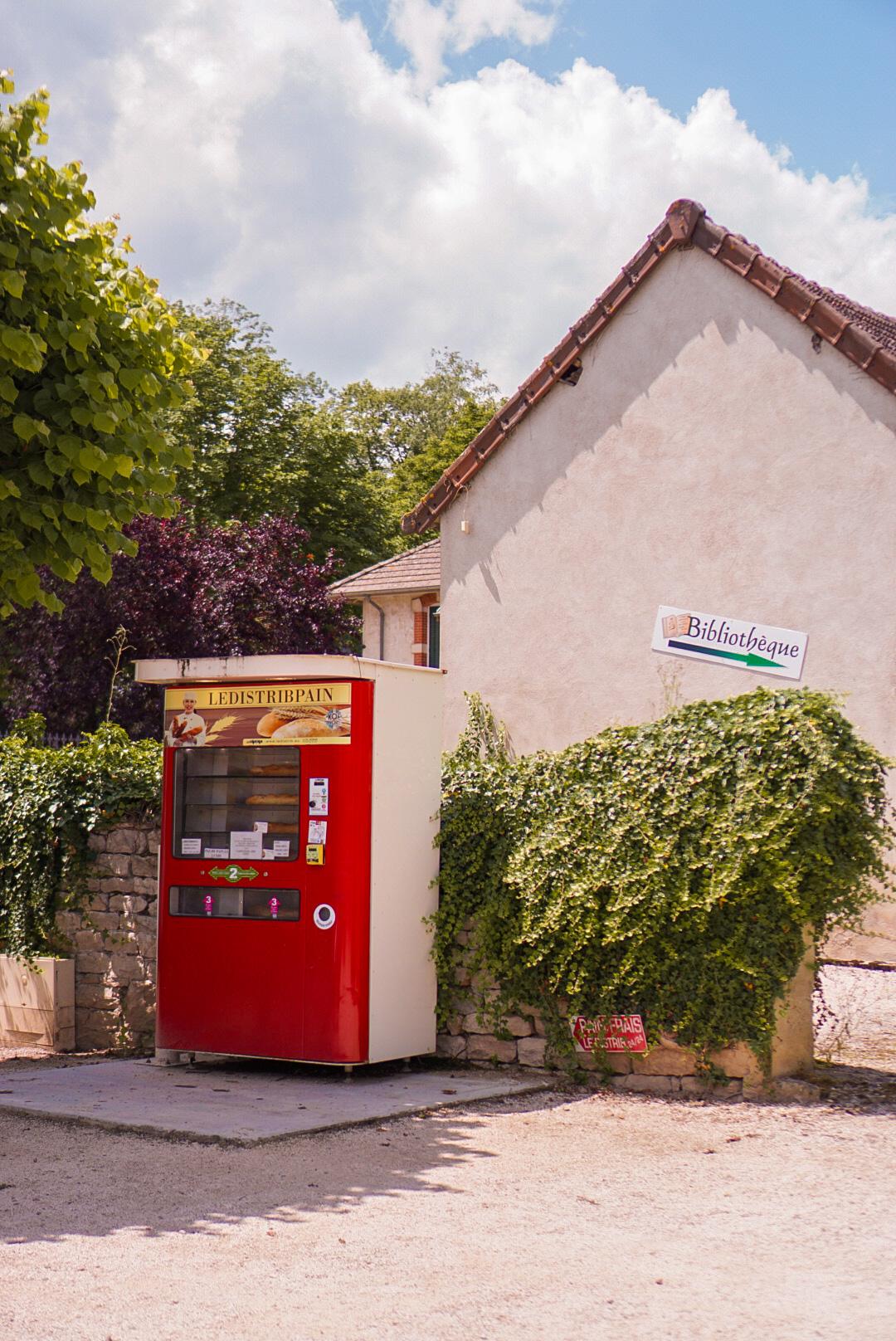 Frans dorp Bourgondië