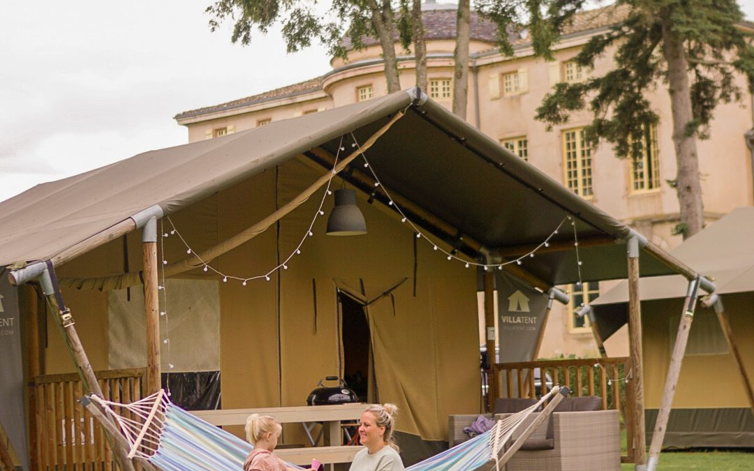 Glamping op de mooiste campings in Europa met Villatent