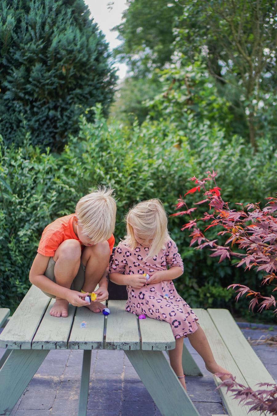 kidsproof tuininrichting